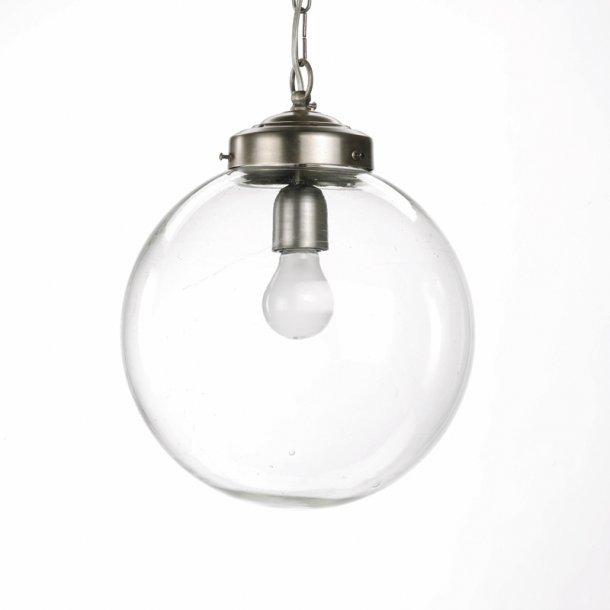 Klassisk lofts lampe med glaskuppel - Ø 30 cm