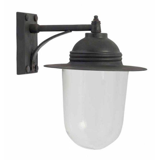 Udendørs lampe til væg - sort finish