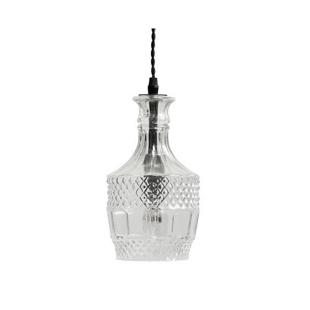 Flacon lampe rund - clear