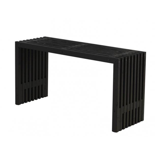 Rustik Trallebord design - sort -138 cm