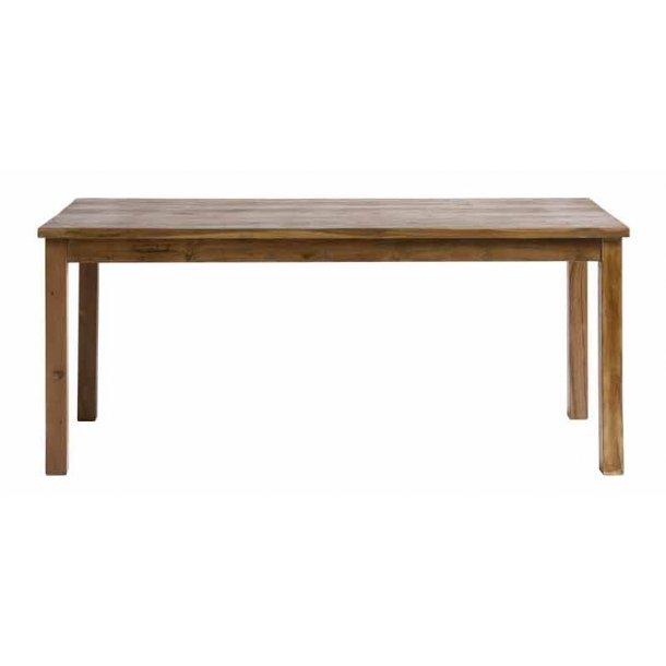 Nordal - spisebord i genbrugs teak - L. 175 cm