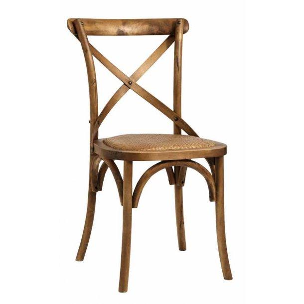 Spisebords stol natur træ