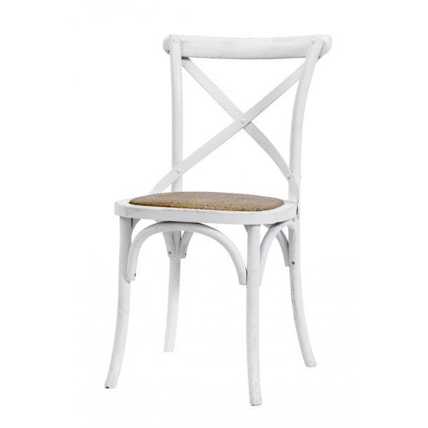 Spisebords stol - hvid