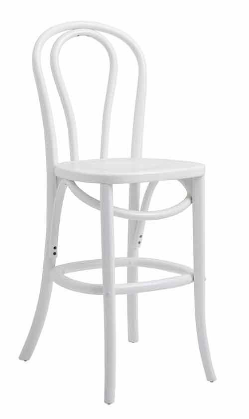 Nordal bistro barstol stol i hvid