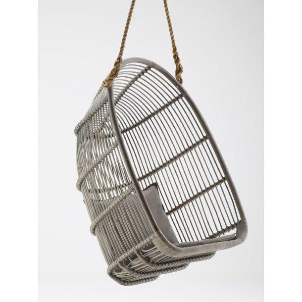 Hængestol / gynge i rattan - Grå - Renoir hængestol