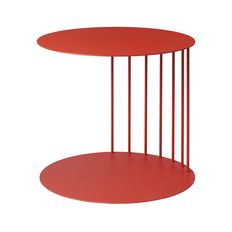 Billede af Broste bord 'TONE' stål - rød 40