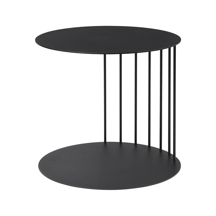 Billede af Broste bord 'TONE' stål - sort 40