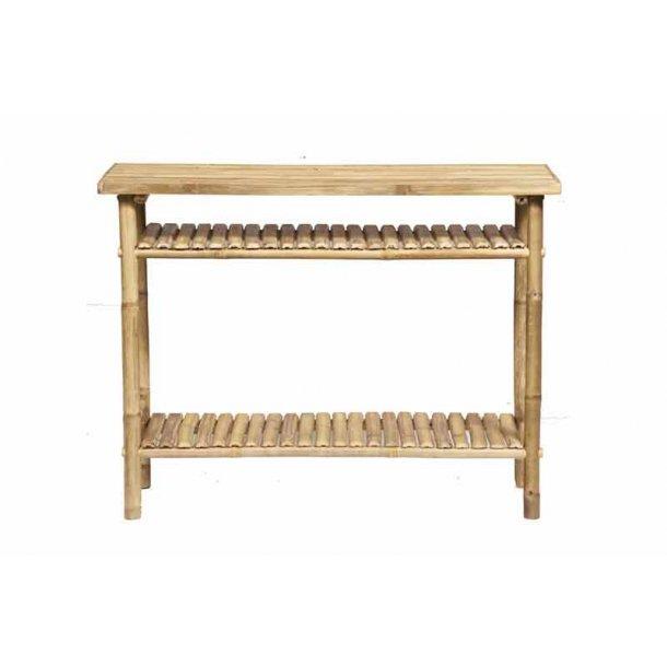 Bambus konsolbord natural