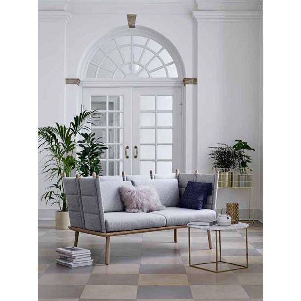Nora sofa - lysgrå - Bloomingville