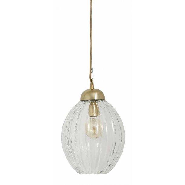 PUMPKIN hængelampe - klar glas