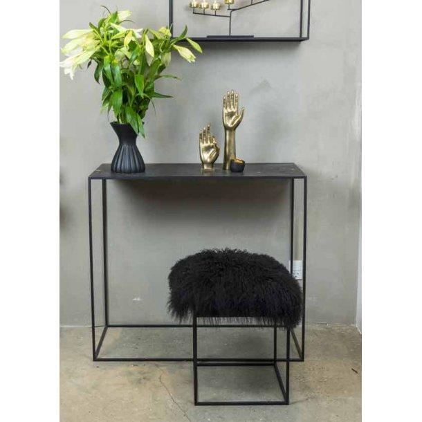 Konsolbord metal - L. 130 cm
