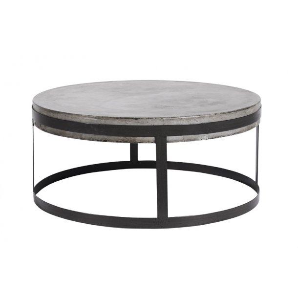 Sofabord Walter - jern / beton