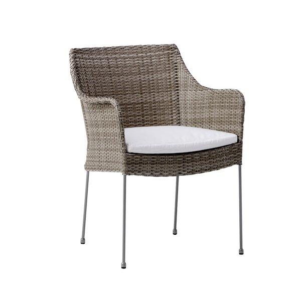 Venus stol - teak grå