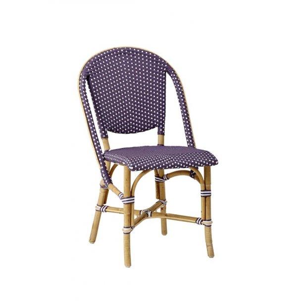 Sofie side chair - plum - udendørs brug