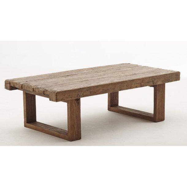 rustikt sofabord Sika Design   sofabord   old teak   rustik sofabord i teak rustikt sofabord