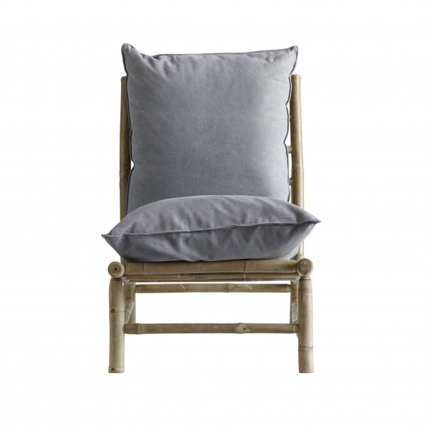 Bamboo Lounge Stol 55 M Grey Pude Tine K Home Hojgaard