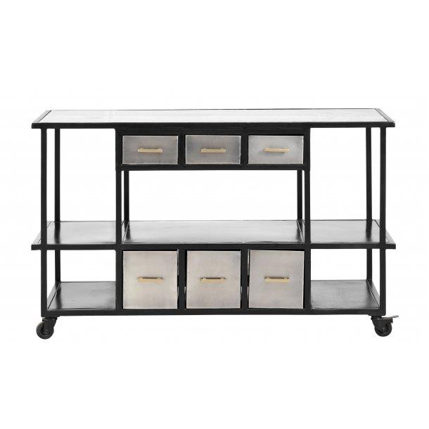Fantastisk Rullebord i jern med skuffer - Rulle - og bakkeborde - Højgaard CQ58
