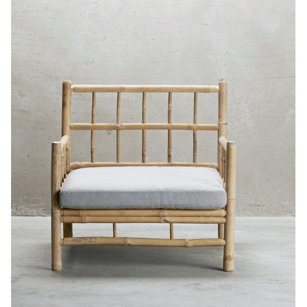 bambus møbler Tine K. bambus møbler   lounge stol med hynde   bambus møbler bambus møbler