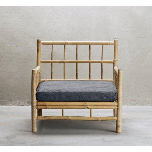 Lounge stol bambus med phanton fv. hynde - Tine K.