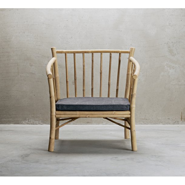 Lounge stol bambus med phanton fv.hynde - Tine K.