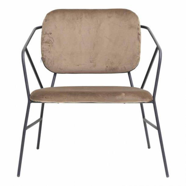 House Doctor - lounge stol - Klever - enkel og stringent 1e6a36ac936a7