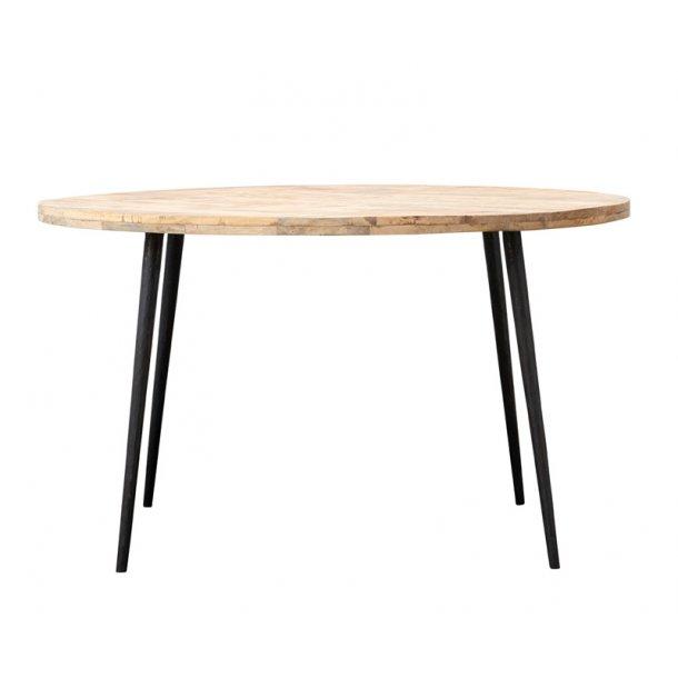 Spisebord CLUB rundt - lys- ø. 130 cm
