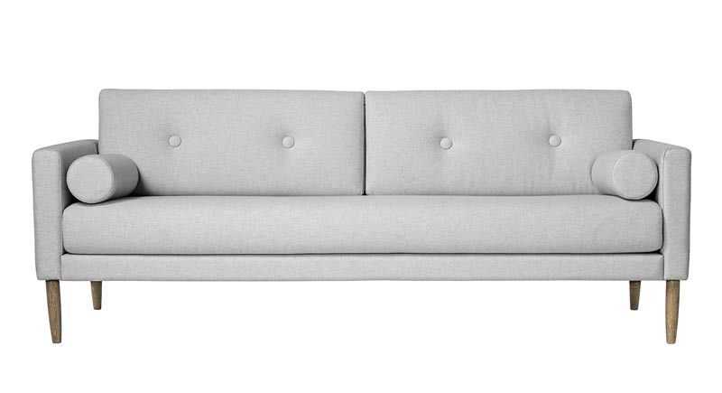 Image of   Bloomingville Calm sofa - lys grå 200
