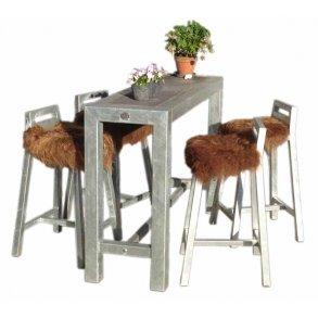 Galvaniseret Havemøbler