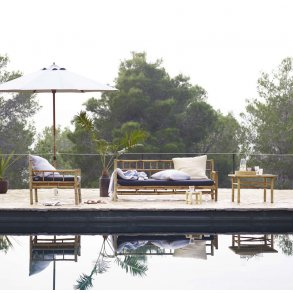 Bambus / teak møbler Lounge