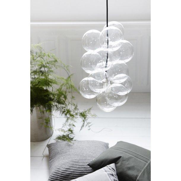 DIY lampe - glas
