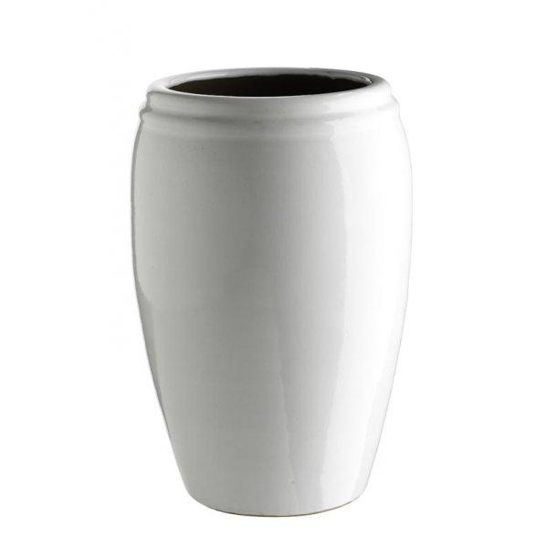 Krukke keramik hvid - XL