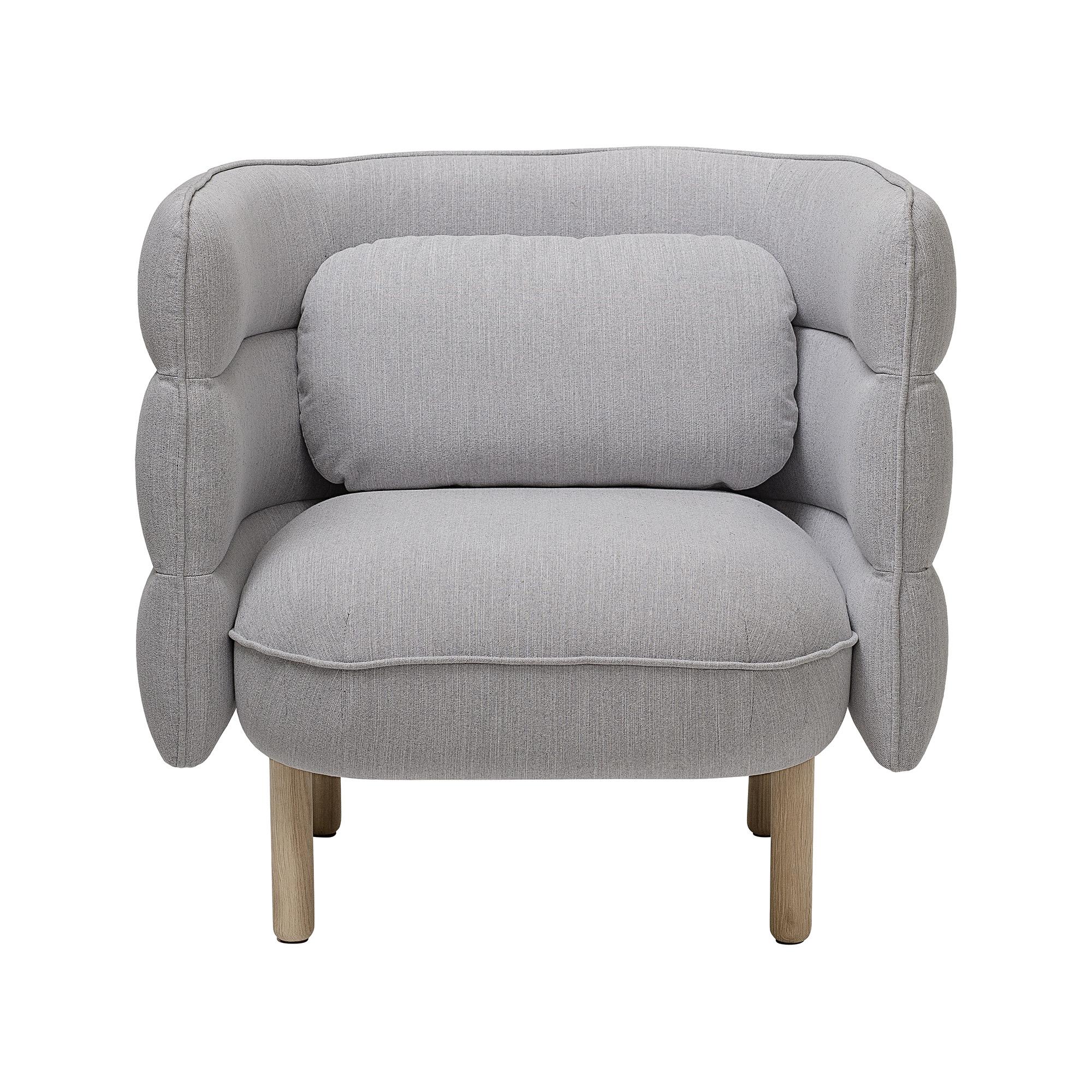 Image of   Bloomingville Ellen Stol polyester - grå