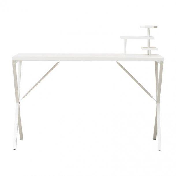 House Doctor skrivebord Tray hvid - med opbevaring