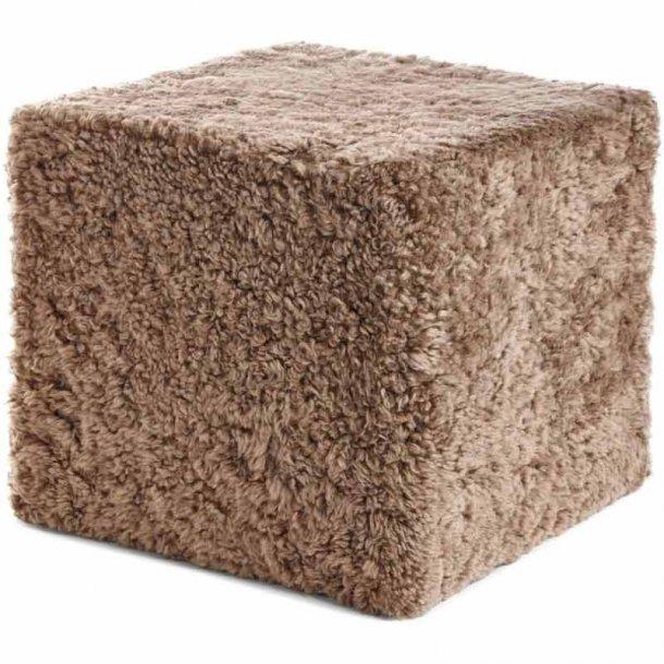 Puf cube - New Zealandsk lammeskind