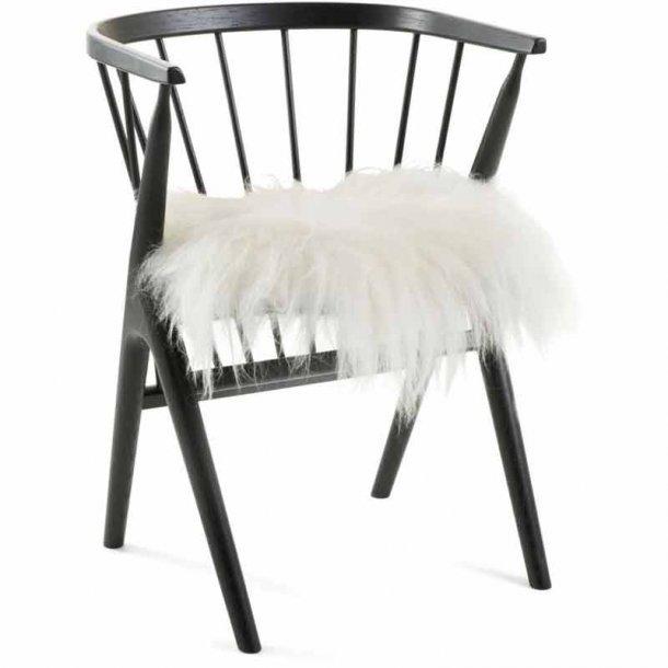 Seat cover - Islandsk fåreskind - hvid - 40x40cm