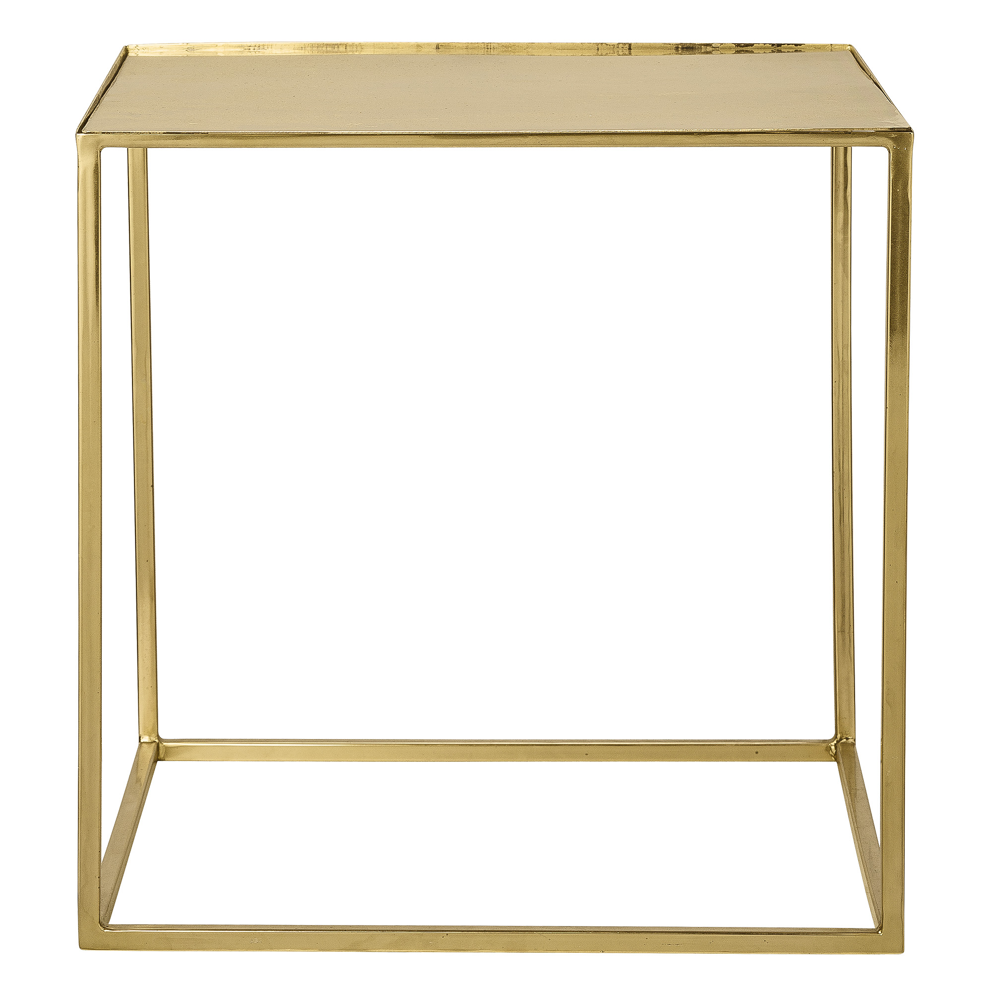 Image of Bloomingville Cube Sofabord - Guld Metal