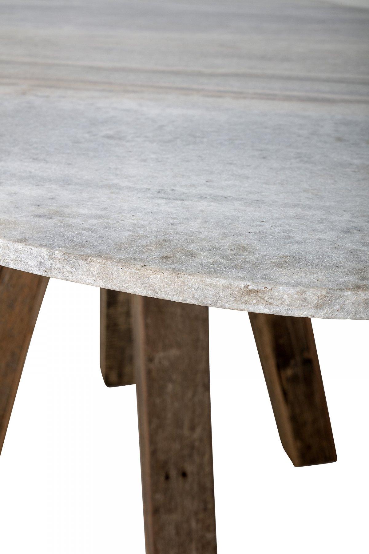 Picture of: Bloomingville Spisebord Hvid Marmor Bloomingville Hoejgaardbrugskunst Dk