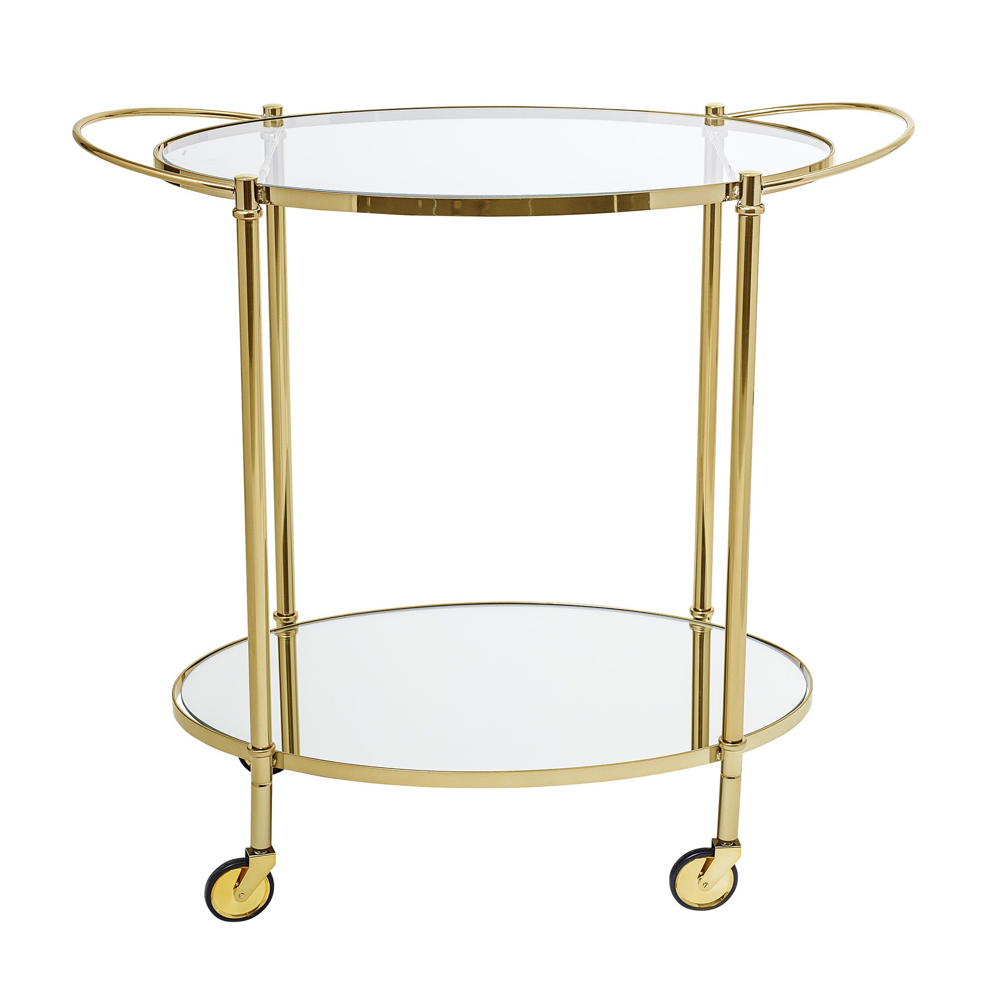 Image of   Bloomingville Fine Bar Bord - Guld Glas