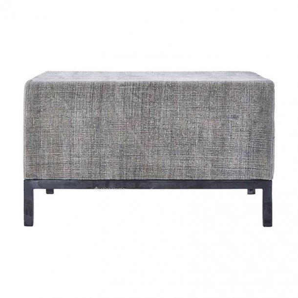 House Doctor puf - Greys - 80 x 80 cm