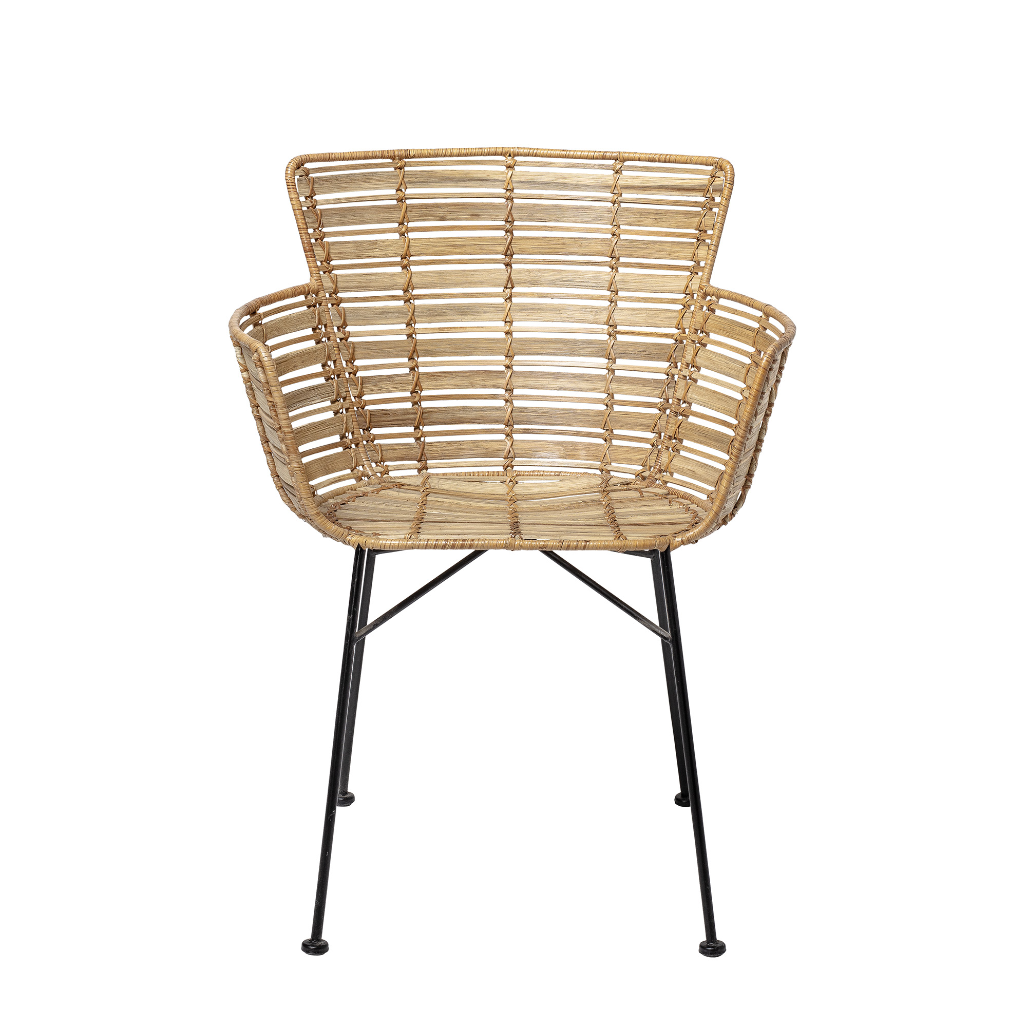 Image of   Bloomingville - Coast Lounge Stol - Natur Rattan